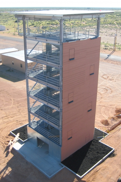 Fort Bliss Rappel Tower
