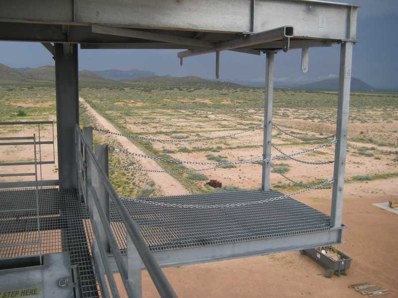 Fort Bliss Rappel Tower Deck