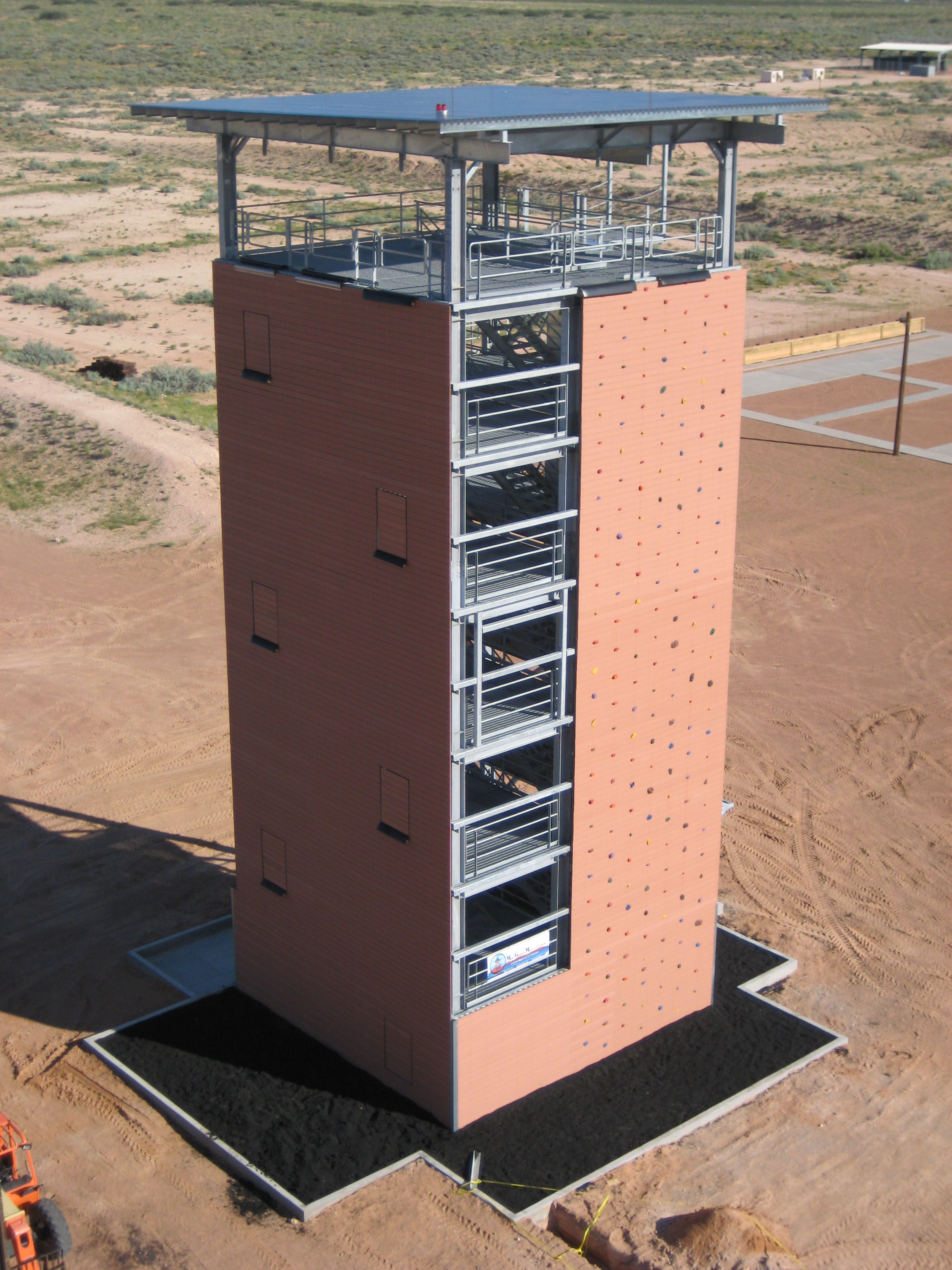 Fort Bliss Texas Rappel Tower