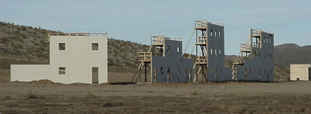 Fort Irwin Training Structures