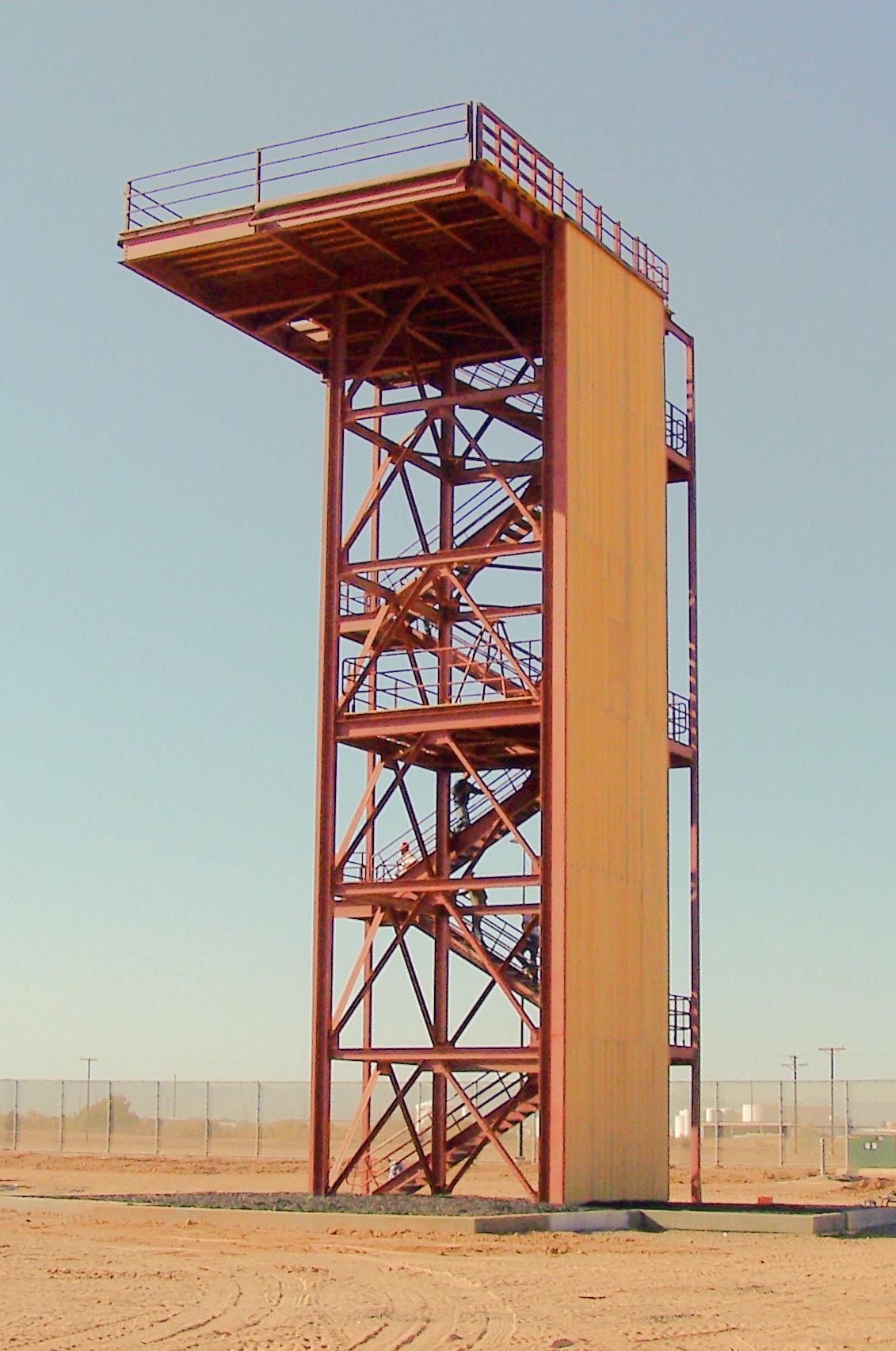 Hebbronville Rappel Tower